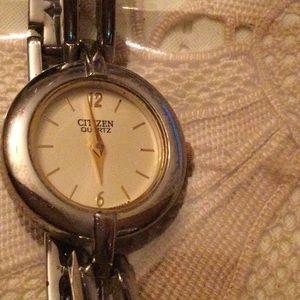 Citizen Quartz silver watch